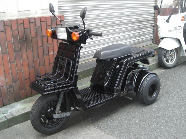 ジャイロX2stブラックミニカー