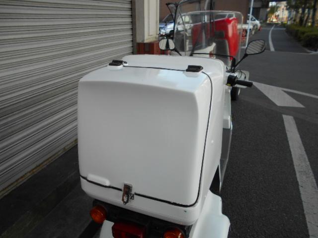 ジャイロX4stリアBOX付